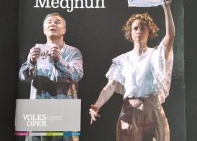"""Titelseite Programmheft """"Leyla und Medjnun"""""""