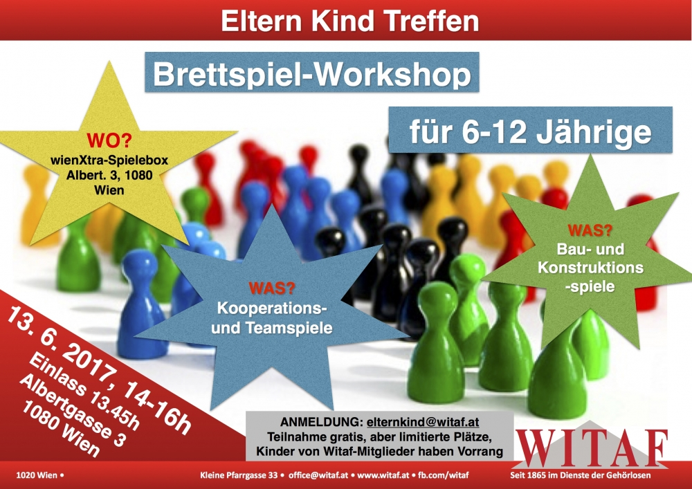 ekt brettspiel workshop speziell f r 6 12 j hrige witaf seit 1865 im dienste der geh rlosen. Black Bedroom Furniture Sets. Home Design Ideas